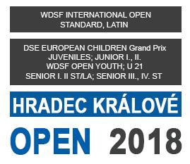 HRADEC KRÁLOVÉ OPEN - WDSF INTERNATIONAL OPEN